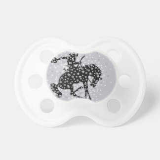 The cowboy. baby pacifier
