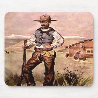 The Cowboy Mousepads
