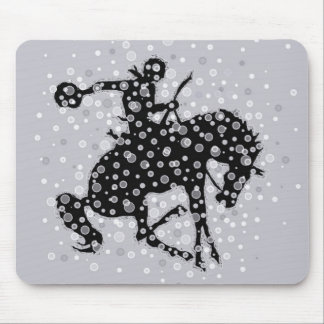 The cowboy mouse pad