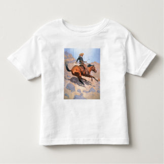 The Cowboy (oil on canvas) Toddler T-Shirt