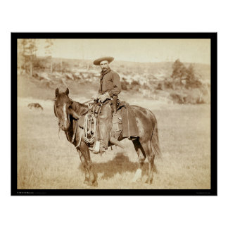 The Cowboy SD 1887 Poster
