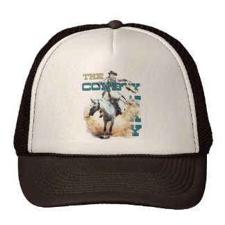 The Cowboy Way -rodeo gifts tees Mesh Hats