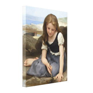 The Crab by William-Adolphe Bouguereau Gallery Wrapped Canvas