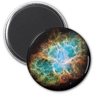 The Crab Nebula 6 Cm Round Magnet