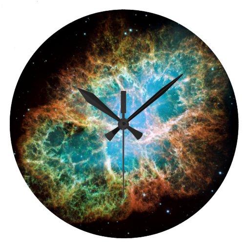 The Crab Nebula Wallclocks