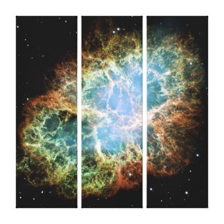 The Crab Nebula Gallery Wrap Canvas