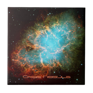 The Crab Nebula in Taurus Tile