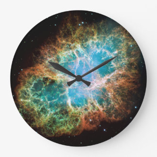 The Crab Nebula Large Clock