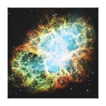 The Crab Nebula M1 NGC 1952 Taurus A Stretched Canvas Prints