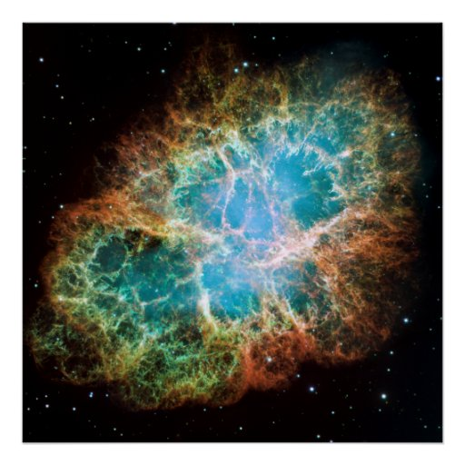 The Crab Nebula Posters