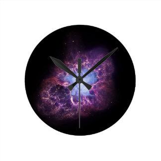 The Crab Nebula Round Clocks