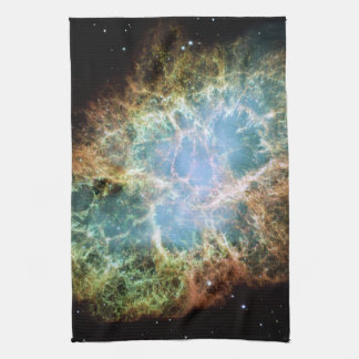 The Crab Nebula Tea Towel