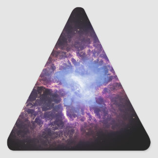 The Crab Nebula Triangle Sticker