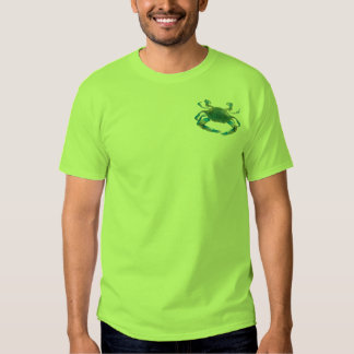 the crab whisperer - blue crab t-shirts