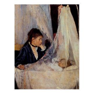 The Cradle by Berthe Morisot Postcard