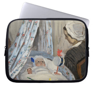 The Cradle, Camille with the Artist's Son Jean Laptop Sleeves
