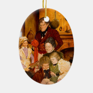 The Cratchit Family Christmas Ornament
