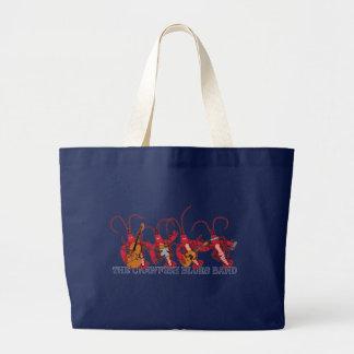 The Crawfish Blues Band Large Tote Bag