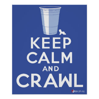 The Crawl (Union College Tradition) Poster