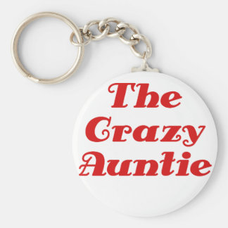 The Crazy Auntie Key Ring