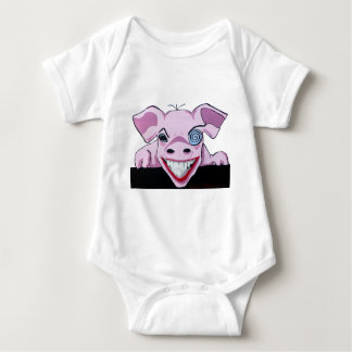 The Crazy Pig Baby Bodysuit