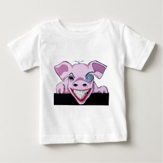 The Crazy Pig Baby T-Shirt