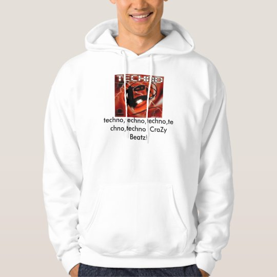 The Crazy Techno Lover Hoodie