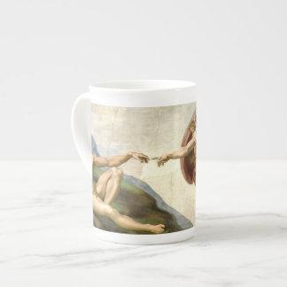 The Creation of Adam by Michelangelo China Mug Bone China Mug