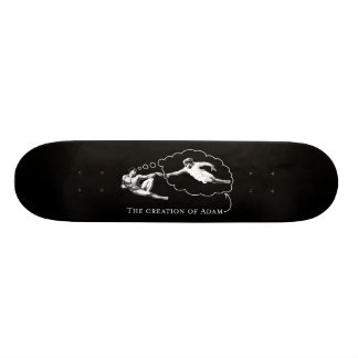 The Creation of Adam god - Da Vinci Skate Deck