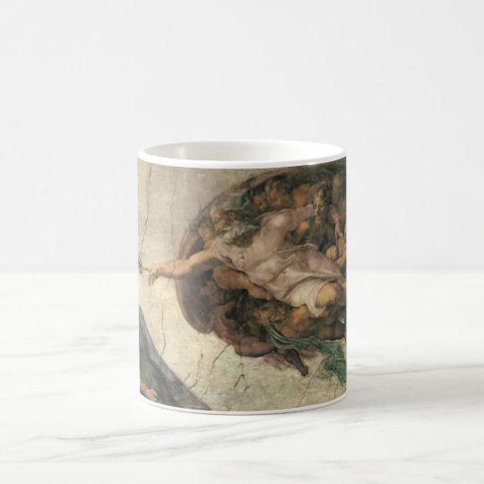 """The Creation of Man"" Coffee Mug"