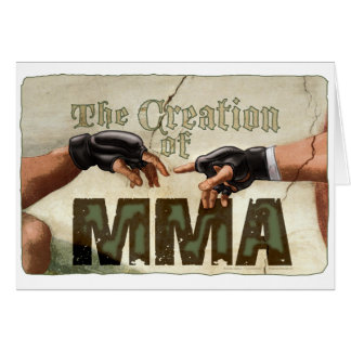 The Creation of MMA Greeting Card