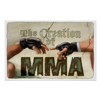 The Creation of MMA Poster