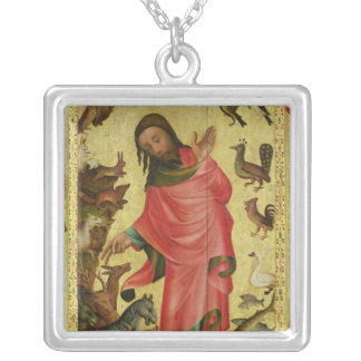 The Creation of the Animals Silver Plated Necklace