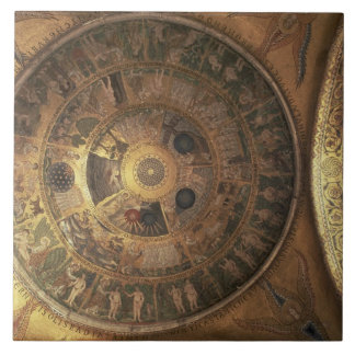 The Creation of the World, from the Genesis Cupola Tile