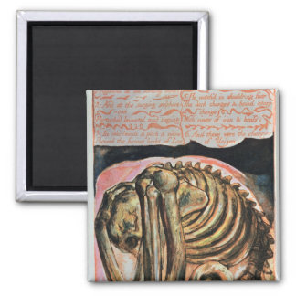 The creation of Urizen in material form by Los Square Magnet