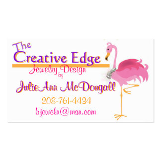 The Creative Edge Card A Pack Of Standard Business Cards