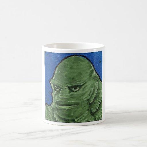 """""""the Creature"""" Classic White Coffee Mug"""