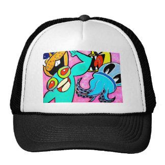 """the creatures"" mesh hat"