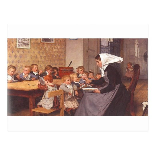 The Crèche Postcard