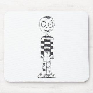 The creepy boy mousepads