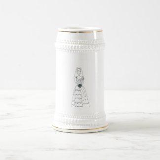The Creepy Bride Beer Stein