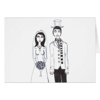 The Creepy Wedding Greeting Card
