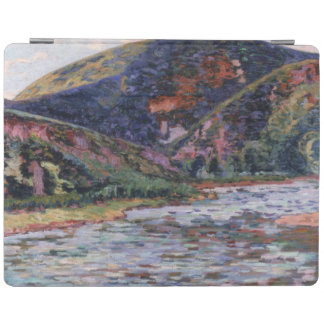 The Creuse in Summertime, 1895 (oil on canvas) iPad Cover