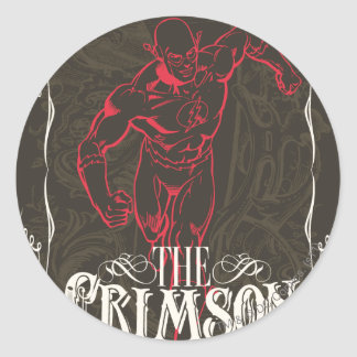The Crimson Comet - It's Showtime! Poster Round Sticker