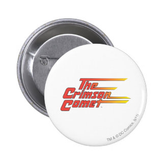 The Crimson Comet Logo 6 Cm Round Badge