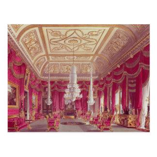The Crimson Drawing Room, Carlton House Postcard