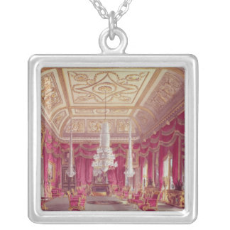 The Crimson Drawing Room, Carlton House Silver Plated Necklace