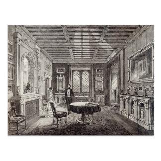 The Crimson Drawing Room, Lansdown Tower Postcard