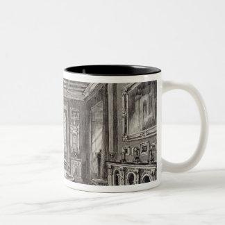 The Crimson Drawing Room, Lansdown Tower Two-Tone Coffee Mug