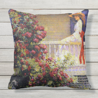 The Crimson Rambler Cushions